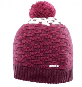 CZAPKA SALOMON POLY BEANIE 356834 BEET RED