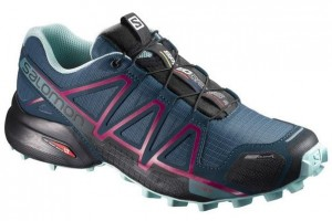 BUTY DAMSKIE SALOMON SPEEDCROSS 4 CS M 398433 MALLARD BLUE