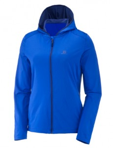 BLUZA DAMSKA SALOMON COMET HOODIE W 400835 SURF THE WEB