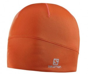 CZAPKA SALOMON ACTIVE BEANIE 390227 VIVID ORANGE