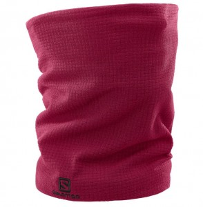 KOMIN BANDANA SALOMON RS WARM TUBE 398143 BEET RED