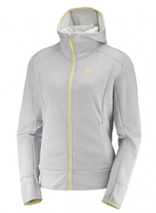 BLUZA DAMSKA SALOMON RIGHT NICE MID HOODIE W 400788 VAPOR