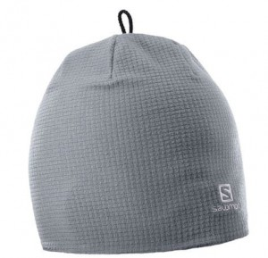 CZAPKA SALOMON RS WARM BEANIE 398059 QUIET SHADE
