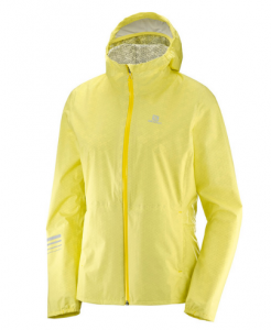 KURTKA DAMSKA SALOMON LIGHTNING WP JKT W 400790 LIMELIGHT