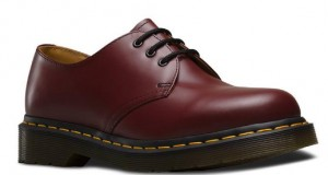 BUTY UNISEX DR. MARTENS 1461 CHERRY RED SMOOTH