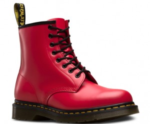 BUTY DAMSKIE DR. MARTENS 1460 RED SMOOTH
