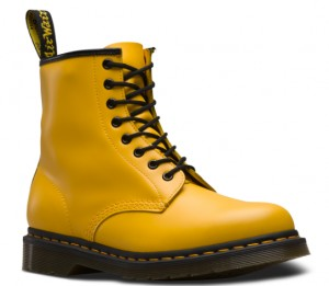 BUTY DAMSKIE DR. MARTENS 1460 YELLOW SMOOTH