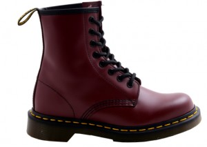 BUTY Dr. MARTENS 1460 SMOOTH CHERRY RED