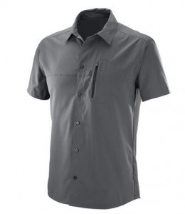 KOSZULA MĘSKA SALOMON RADIANT STRETCH SS SHIRT M 393108 FORG