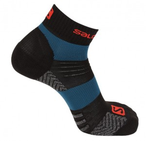 SKARPETY SALOMON QUEST LOW 402756 BLUE