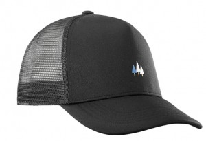 CZAPKA SALOMON SUMMER LOGO CAP M 400463 BLACK