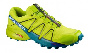 BUTY MĘSKIE SALOMON SPEEDCROSS 4 M 400779 ACID LIME