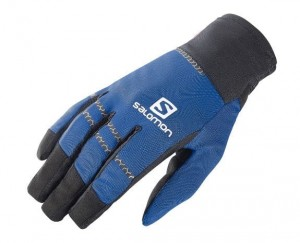 REKAWICE SALOMON RACE WS GLOVE 383198 BLACK BLUE YONDER