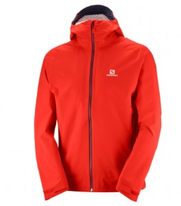 KURTKA MĘSKA SALOMON LA COTE STRETCH 2.5L JKT M 400762 FIERY RED