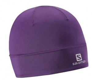 CZAPKA SALMON ACTIVE BEANIE W 377121 PURPLE