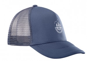 CZAPKA SALOMON SUMMER LOGO CAP M 400465 DRESS BLUE