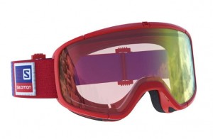 GOGLE SALOMON FOUR SEVEN PHOTO 399004 RED