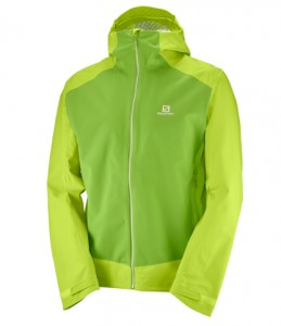 KURTKA MĘSKA SALOMON LA COTE STRETCH 2.5L JKT M 400764 ACID LIME