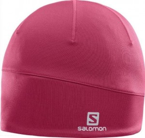 CZAPKA SALOMON ACTIVE BEANIE 397950 BEET RED