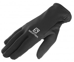 REKAWICE SALOMON FLEECE TOUCH GLOVES 375635 BLACK