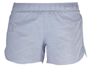 SPODENKI DAMSKIE SALOMON TRAIL RUNNER SHORT W 401117 LILAC GRAY
