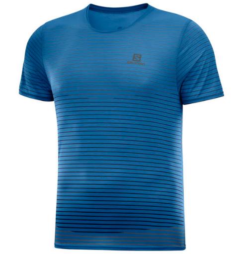 Koszulka Bez Rękawów Salomon Sense M Męskie Niebieski