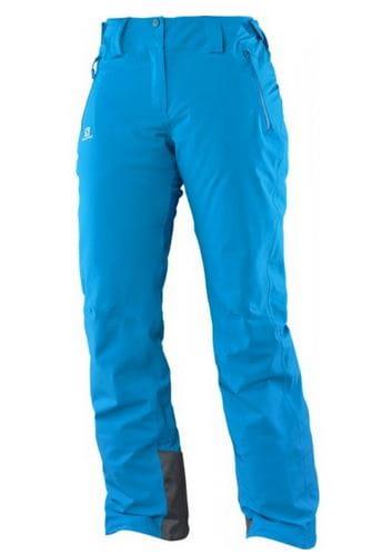 Salomon Damskie Spodnie Narciarskie Ice Glory Fiolet L